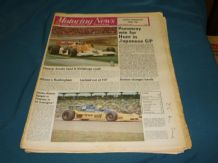 MOTORING NEWS 1977 Oct 27 Japan GP. Hockenhiem F2, Border Rally, Southern Cross